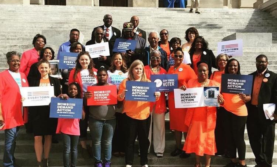 While working at Everytown, Liz planned and ran an advocacy day and press conference with grassroots volunteers and gun violence survivors in Mississippi.