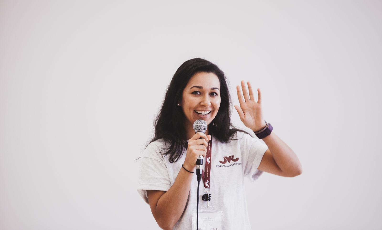JVC Staff Brooke Silvas Orientation Introduction