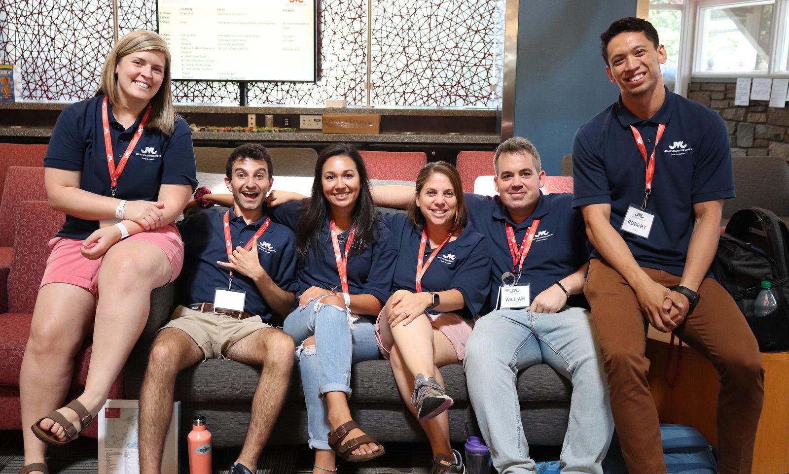 JVC staff at Orientation Retreat