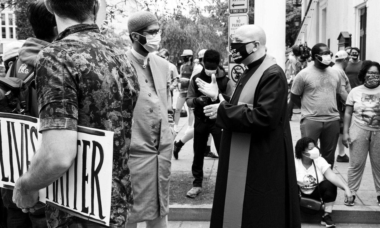Black Lives Matter Protest in DC, 6/2/2020. (Instagram: @koshuphotography)